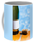 Champagne Bottle And Cork Coffee Mug