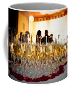 Champagne Glasses At The Party Coffee Mug