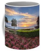 Charleston Sc Waterfront Pineapple Fountain Coffee Mug