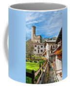 Chatelard Village With Castle Coffee Mug