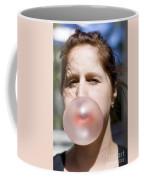 Chewing Gum Lady Coffee Mug