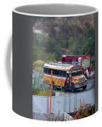 Chicken Bus In El Tizate Coffee Mug