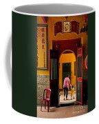 Chinese Temple In Ho Chi Minh Vietnam Coffee Mug