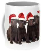 Chocolate Labrador Puppies Coffee Mug