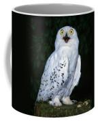 Chouette Harfang Nyctea Scandiaca Coffee Mug