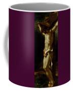 Christ On The Cross Coffee Mug by Delacroix