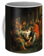 Christ Washing The Apostles' Feet Coffee Mug