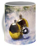 Christmas Balls Artistic Vintage Painting Coffee Mug