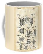 Christmas Bulb Socket Patent 1936 - Vintage Coffee Mug