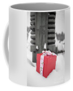 Christmas Down On The Farm Coffee Mug by Edward Fielding
