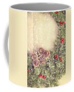 Christmas Garland Coffee Mug by Amanda Elwell