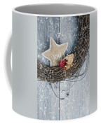 Christmas Wreath Coffee Mug by Amanda Elwell