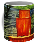 Christo - The Gates - Project For Central Park Coffee Mug