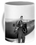 Chuck Yeager And Bell X-1 Coffee Mug