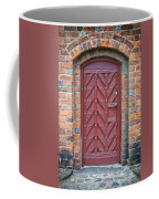 Church Door 02 Coffee Mug by Antony McAulay