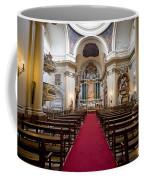 Church Of Santa Barbara Interior In Madrid Coffee Mug