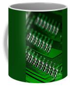 Circuit Board Bokeh Coffee Mug