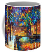 City Bridge Coffee Mug by Leonid Afremov