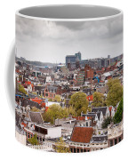 City Of Amsterdam From Above Coffee Mug