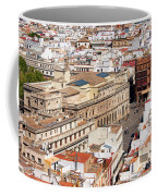City Of Seville Cityscape In Spain Coffee Mug