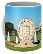 Classical Image Of The Texas Tech University Seal  Coffee Mug