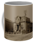 Clay And Hyde Street's San Francisco Built In 1874 Burned In The 1906 Fire Coffee Mug