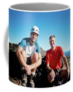 Climbing Foley Peak Coffee Mug