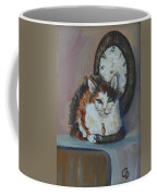 Clockwork Cat Coffee Mug