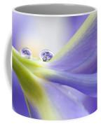 Close Up Iris Coffee Mug