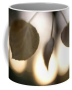 Close-up Of Aspen Leaves In Autumn Coffee Mug