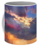 Cloudscape Sunset Touch Of Blue Coffee Mug