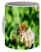 Clover Bee Coffee Mug