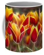 Cluisiana Tulips Fractal Coffee Mug