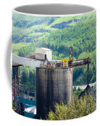 Coal Mine Electrical Energy Power Plant In Nature Coffee Mug
