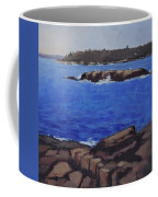 Coastal Waters Of Maine - Art By Bill Tomsa Coffee Mug