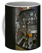 Cockpit Of A P-40e Warhawk Coffee Mug