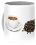 Coffee Cups And Coffee Beans Coffee Mug