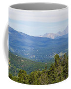 Colorado Continental Divide 5 Part Panorama 5 Coffee Mug