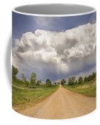 Colorado Country Road Stormin Skies Coffee Mug