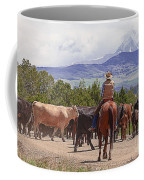 Colorado Cowboy Cattle Drive Coffee Mug