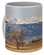 Colorado Front Range Continental Divide Panorama Coffee Mug by James BO  Insogna