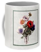 Colorful Anemones Square Coffee Mug