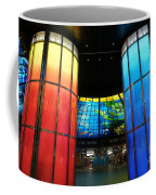 Colorful Glass Work Ceiling And Columns Coffee Mug