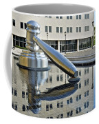 Columbus Ohio Justice Center Coffee Mug by Frozen in Time Fine Art Photography