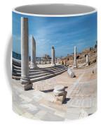 Columns In Archaeological Site Coffee Mug