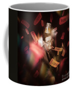 Comedy Entertainment Man On Theater Stage Coffee Mug