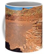 Community Room At Wupatki Pueblo In Wupatki National Monument Coffee Mug