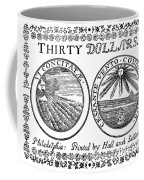 Continental Banknote, 1776 Coffee Mug