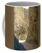 Contrasting Canyon Colors In Big Painted Canyon Trail In Mecca Hills-ca Coffee Mug