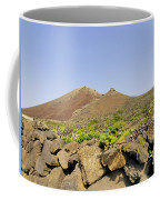 Corona Volcano On Lanzarote Coffee Mug